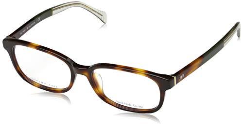 Tommy Hilfiger Unisex-Erwachsene 827886602278 Brillengestelle, Braun, 54