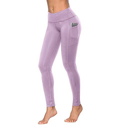 Routinfly 2019 Neue Damen Workout Out Pocket Leggings Fitness,Frauen Sport Laufen Yoga Athletic Pants Jogginghose Gym Sport Hose Jogging Trainingshose - Bi-stretch-gerades Bein Hose