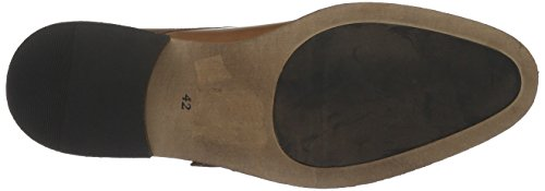 BIANCO - Double Monk Loafer Jja16, Scarpe stringate Uomo Marrone (Braun (24/Light Brown))