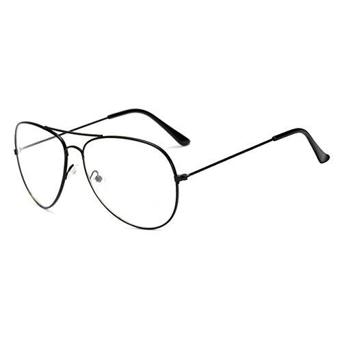 Baby Aviator Gläser Rahmen - Kinder Brillen Geek / Nerd Retro Reading Eyewear für Mädchen Jungen...