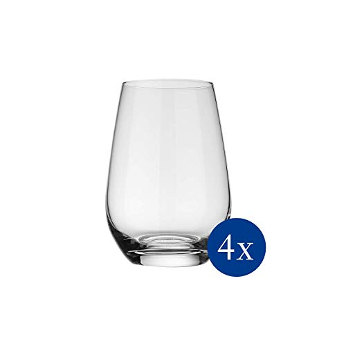 Vivo by Villeroy & Boch Group Voice Basic Bicchieri per Long Drink Set da 4 Pezzi 397 ml Cristallo Trasparente