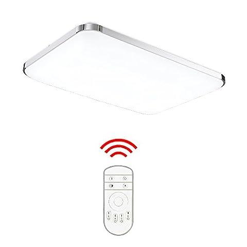 Hengda® 48W LED Deckenleuchte Deckenlampe Wohnzimmer bad Küche Panel Leuchte