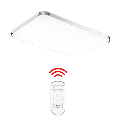 Dimmbare Led-leuchten (Hengda® 48W LED Deckenleuchte Deckenlampe Wohnzimmer bad Küche Panel Leuchte Dimmbar 2700-6500K)