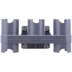 Loveinwinter Support De Fixation Mural pour Dyson V6, V7, V8, V10 V11 Aspirateur Accesoires- Titulaire pour Garder Tous Accessoires De Dyson en 1 Place - Ensemble De Convertisseur D'Adaptateur