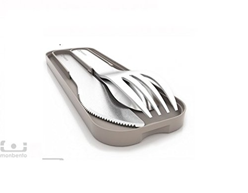 MB Pocket grey - The nomad cutlery set -