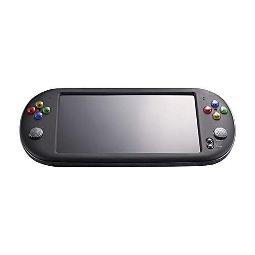 Globalqi Mini Spielmaschine PSP X16 Großer Bildschirm 7 Zoll HD Tasche GBA Arkade NES Nostalgie Contra-Spielekonsole X16