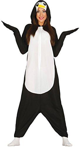Baby Taucher Kostüm - Guirca-Kostüm Erwachsene Schlafanzug Pinguin, Gr. 38-40(84939.0)