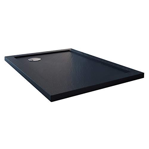 Receveur de douche 70x90x4 cm rectangle acrylique mod. Solid UltraSlim