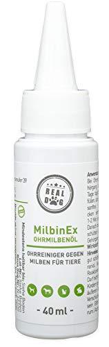 RealDog Milbenöl für Hunde, Katzen, Haustiere 40 ml +++ Abwehr von Milben +++ Premium Qualität aus Deutschland