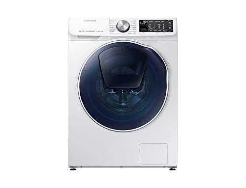 Samsung WD90N645OOM Charge avant Autonome Blanc A - Machines à laver avec sèche linge (Charge avant, Autonome, Blanc, Gauche, Boutons, Rotatif, LED)