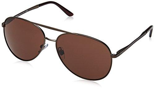 Armani Herren AR6030 Sonnenbrille, Braun (Brown 312273), One size (Herstellergröße: 60)