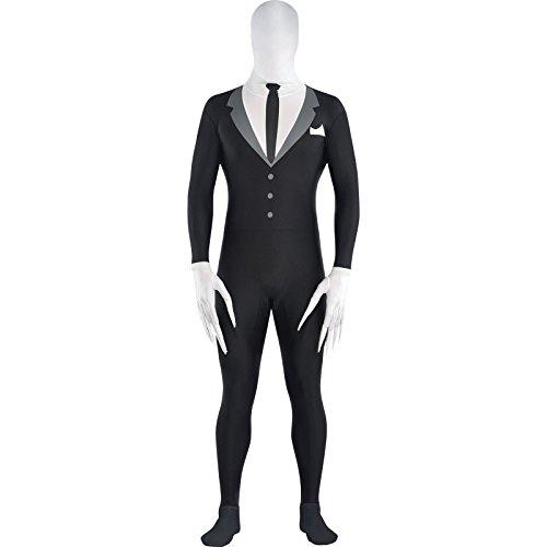 Amscan international - costume in maschera attillato da uomo