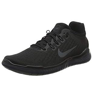 Nike Free RN 2018, Herren Fitnessschuhe, Schwarz (Black/Anthracite 002), 46 EU (11 UK)
