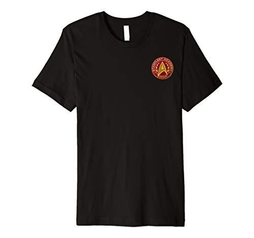 Starfleet Academy Command Badge Red Graphic T-Shirt - Red Shirt Trek Star