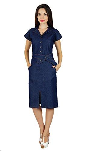 bimba-frauen-blue-denim-kleid-mit-beilaufigen-kappenhulse-schicke-bodycon-kleider-taschen