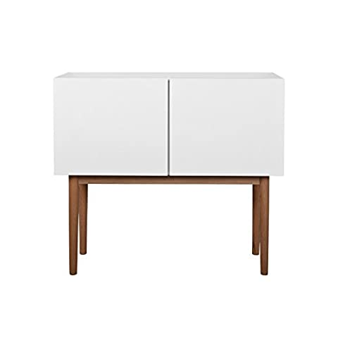 Zuiver 4100006 High On Wood Sideboard 2Do Sticker – White, 90 x 40 x 80 cm