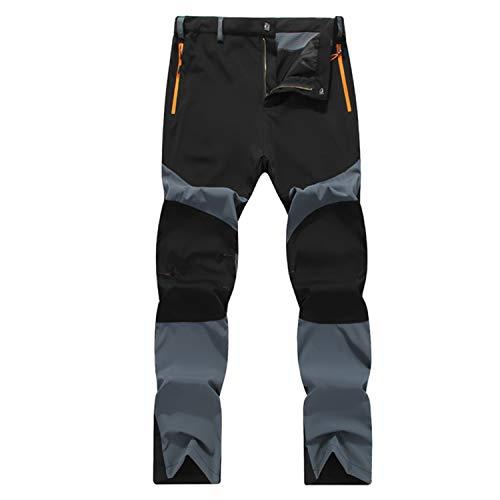 LHHMZ Schnell trockene Wanderhose für Herren Atmungsaktiv Leicht Gehende Hose Wasserabweisend Sportliche Trekkinghose für Kletterer