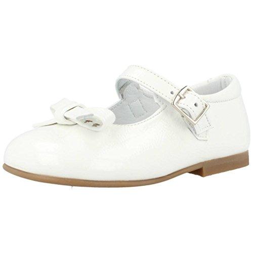 Landos Zapatos Cordones 30Y133 para Niñas Blanco 27 EU