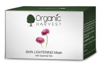Organic Harvest Skin Lightening Mask 50g with Ayur Product in Combo