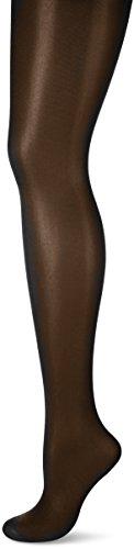 Nur Die Damen Brillant 20 Strumpfhose, 20 DEN, Schwarz (schwarz 94), 44 (Herstellergröße: 40-44=M) -