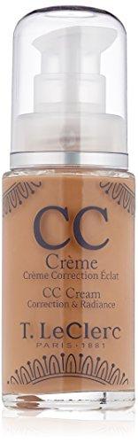 T LECLERC TEINT CC Crème Correction Eclat SPF 20 03 Foncé (28 ml)