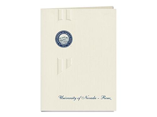 Signature Ankündigungen Universität von Nevada, RENO Abschluss Ankündigungen, eleganten Stil, Elite Pack 20mit u. der NEVADA, RENO Dichtung Folie