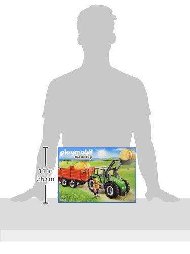 Playmobil-Tractor-con-triler-61300