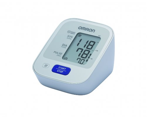 Omron M2   Tensiómetro de brazo  detección del pulso arrítmico  tecnología Intellisense para dar lecturas de presión arterial rápidas  cómodas y precisas