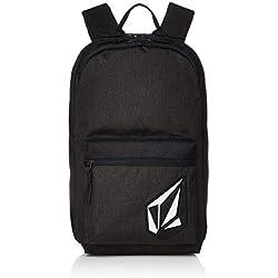 Volcom Academy Backpack, mochilas para Hombre, Nueva Negro Talla única