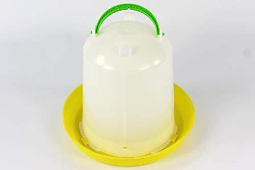 Geflügeltränke 7,5 Liter und Futterautomat 10 kg Tränke Stülptränke Futterspender Geflügel Wachteln Huhn Hühner - 2