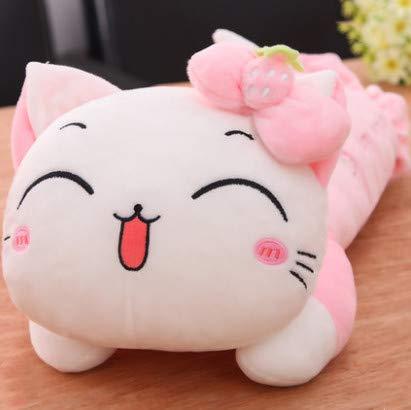 l Plush Toy Girl Sleeping Meng Meng Pillow Pillow Ragdo Lazy Pillow Girl 32Cm1Pcs Pink ()
