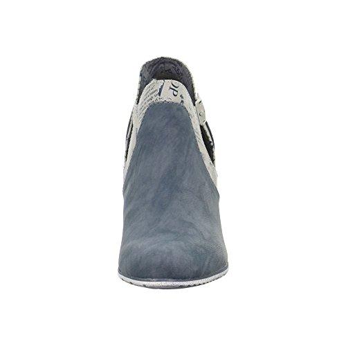 Botas oliver S Tornozelo 25325 Azul 5 Bootee Senhoras ZEZqdvwgSx