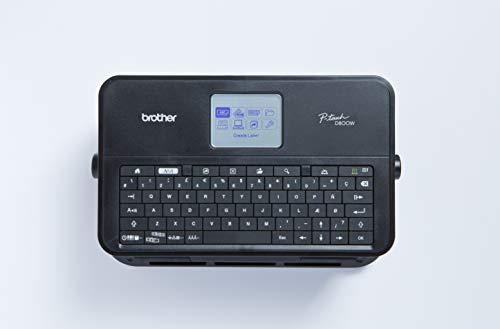 """Brother PTD800WZG1 PC-Beschriftungsgerät\""""P-touch D800W\"""", WLAN/USB"""