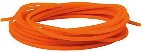 Fox Matrix Slik Elastic 3m - Gummizug zum Stippangeln, Gummipuffer zum Stippen auf Friedfische, Gummi Zug zum Posenangeln, Größe:Gr. 6-8 (1.2mm) -