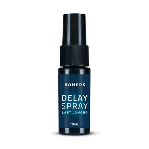 Boners Verzögerungsspray für einen späteren Orgasmus, Delay Spray verzögert Orgasmus/Ejakulation für längere Ausdauer (15 ml)