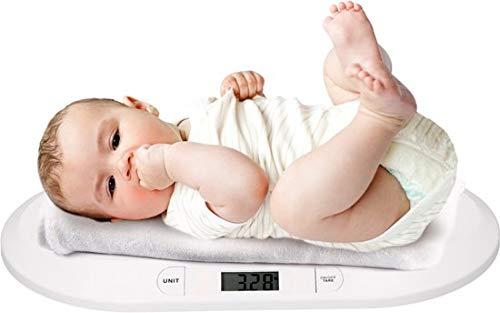 Grundig Pèsé-Bébé - Balance Numerique Avec Fonction Tare - Max. 20KG - Pèse Pour Les Bébés - 55x32x4cm - Blanc