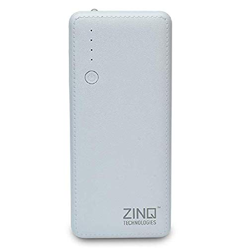 Zinq Technologies Z10KI 10000mAH Lithium Ion Power Bank (White)