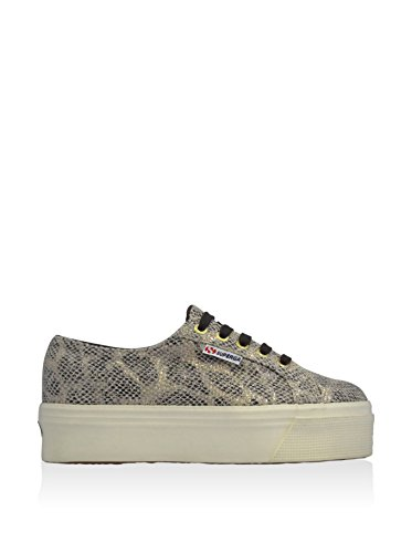 Chaussures Dame - 2790-cotwmetalsnake SNAKE GOLD-DK CHOCOL