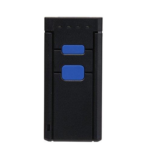 Barcode Scanner Tragbare Wireless Handheld CMOS Barcode Scanner Reader für POS/Android/IOS/iMac/iPad mit Bluetooth 4. 0Empfänger (Imac-scanner)