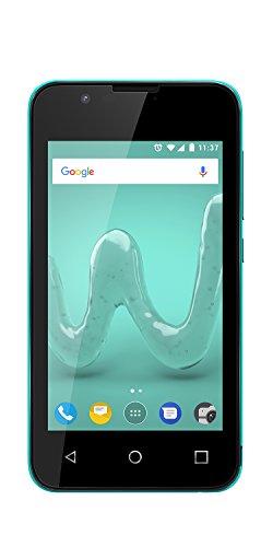 "Wiko Sunny2 - Smartphone 4"" (Dual SIM, QuadCore, Memoria ROM 8GB, Metal) Turquesa"