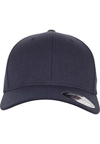 Flexfit Wool Blend Cap, Dark Navy, S/M A-flex-fitted-caps