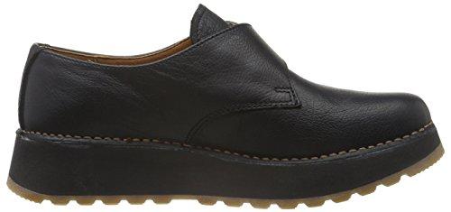 Art Heathrow Buckle, style monk, chaussures à fermeture strap   femme Noir - Black (Memphis Black)