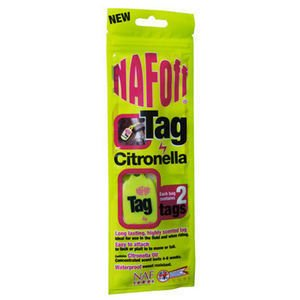 NAF OFF Citronella Tag for sale  Delivered anywhere in Ireland