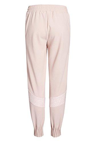 next Femme Regular Fit Pantalon De Jogging À Empiècements Rose