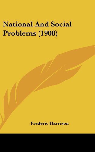 National and Social Problems (1908)