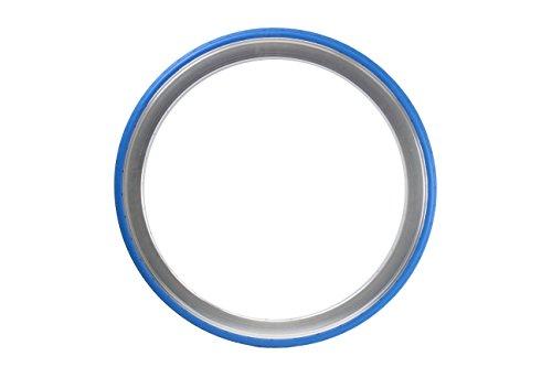 700 x 28C Tannus Vollgummireifen solid Fixie Singlespeed Reifen Aither 1.1, Farbe:blau - R-tech-felgen