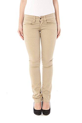 Fornarina BAF1395RO5687 Pin UP Pantalon Mujer Beige 25