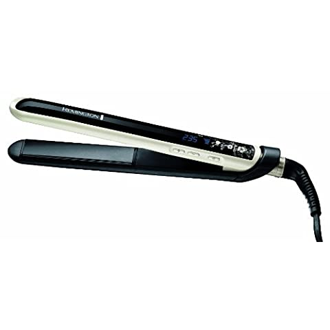 Remington-S9500-Pearl-Plancha-de-pelo-hasta-235-C-placas-de-110-mm-cermica-avanzada-Ultimate