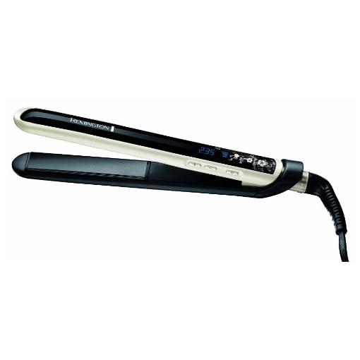 Piastra per capelli in ceramica Remington S9500 Pearl rivestimento perla cavo 3m