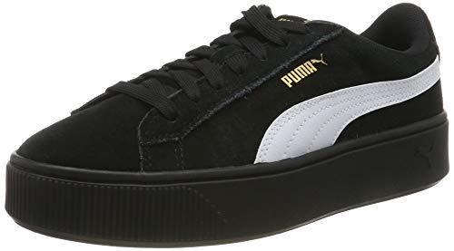 Puma Damen Vikky Stacked Sd Sneaker, Schwarz (Puma Black-Puma White 03), 37.5 EU